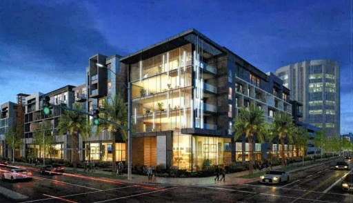 The Irvine Planning Commission approved a proposal to build an 876-unit Trilogy apartments at Campus Drive and Von Karman Avenue within the Irvine Business Complex. (Photo courtesy of city of Irvine)