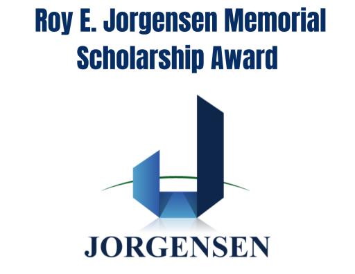 Roy E. Jorgensen Memorial Scholarship Award