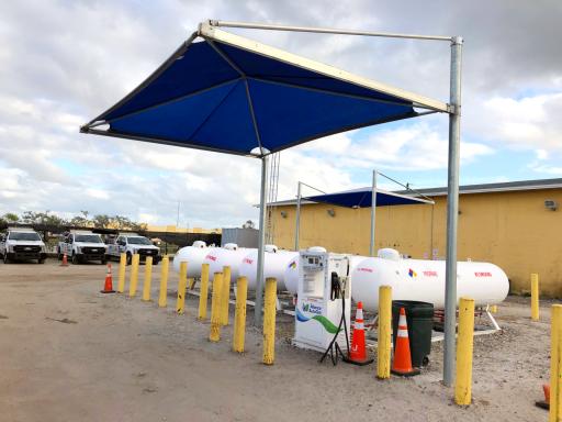 Propane Fuel Station 1