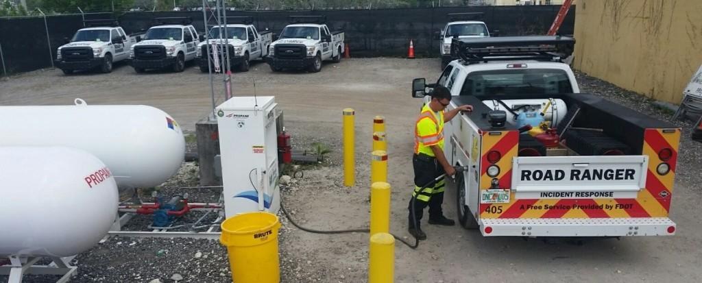 Road Ranger Gas Fill Up